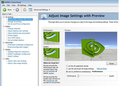 Capture d'écran nVidia GeForce 382.53 - 64 bits pour Windows 10