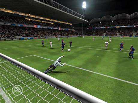 Capture d'écran FIFA 06