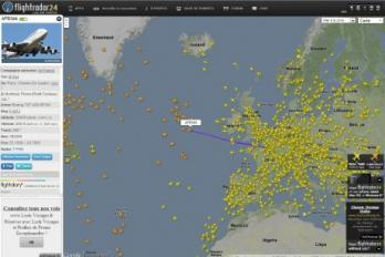 FlightRadar24, visualisez en direct le trafic a�rien mondial