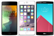 OnePlus 2 vs iPhone 6 Plus vs LG G4 : le match des caract�ristiques