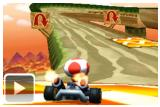 e3 2011 mario kart fait chauffer gomme video