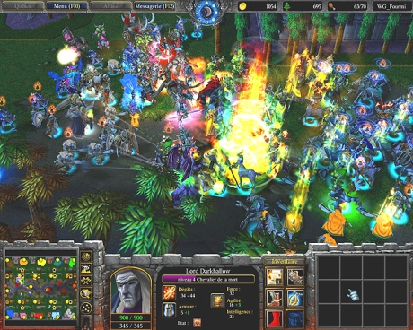 Capture d'écran Warcraft III : Reign of Chaos - Patch 1.24c