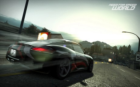 Capture d'écran Need for Speed World
