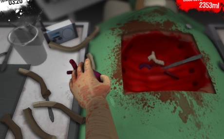 Capture d'écran de Surgeon Simulator 2013: Aperçu en ligne