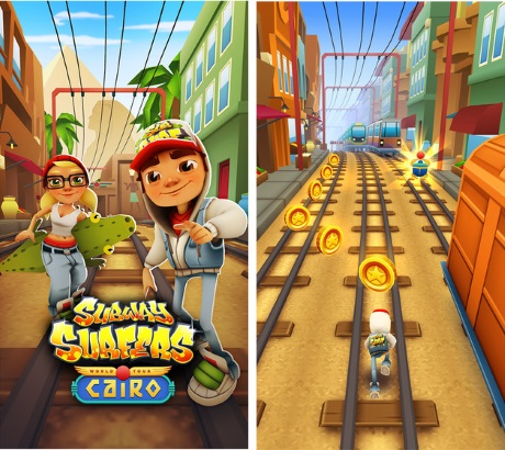Capture d'écran Subway Surfers pour iPhone / iPad