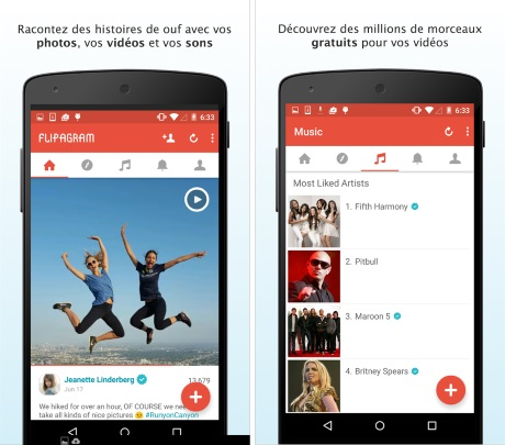 flipagram pour android
