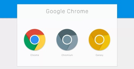Capture d'écran Google Chrome Canary