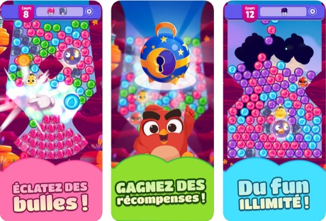 Capture d'écran Angry Birds Dream Blast pour iPhone / iPad