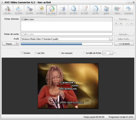 avs video converter sur 01net