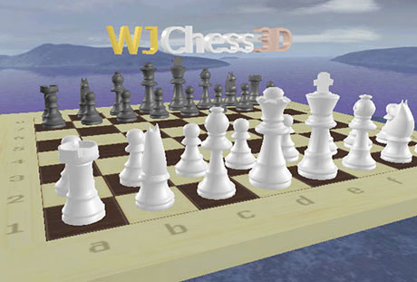 Capture d'écran WJChess 3D