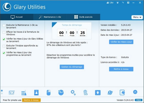glary utilities 01net
