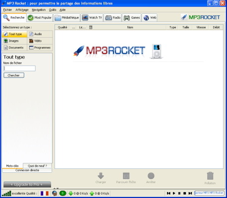 mp3 rocket sur 01net