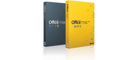 Capture d'écran Microsoft Office 2011 SP2 pour Mac