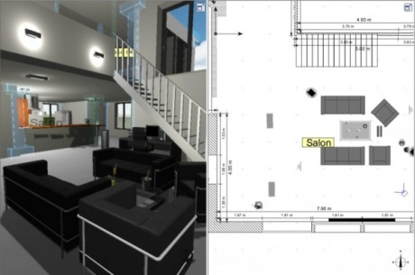 Captures d 39 cran screenshots et images de architecte d for Logiciel de decoration interieur 3d gratuit