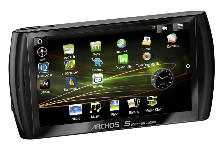 Archos Archos 5 Internet Tablet 8 Go