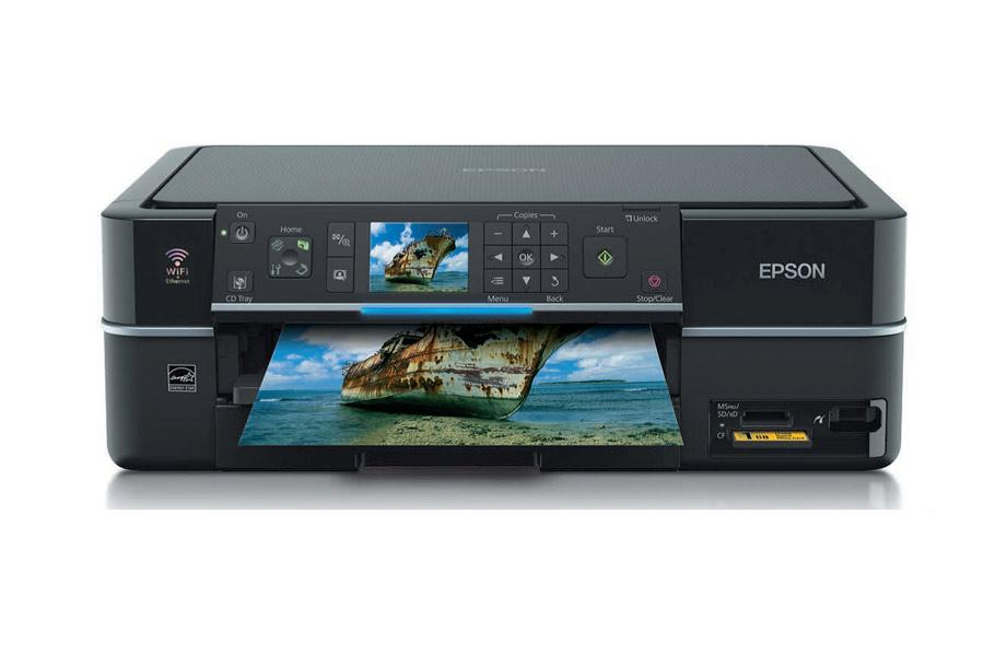 how to i choose trays in epson wf7725