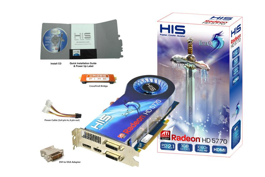 HIS Radeon HD 5770 IceQ 5 Turbo