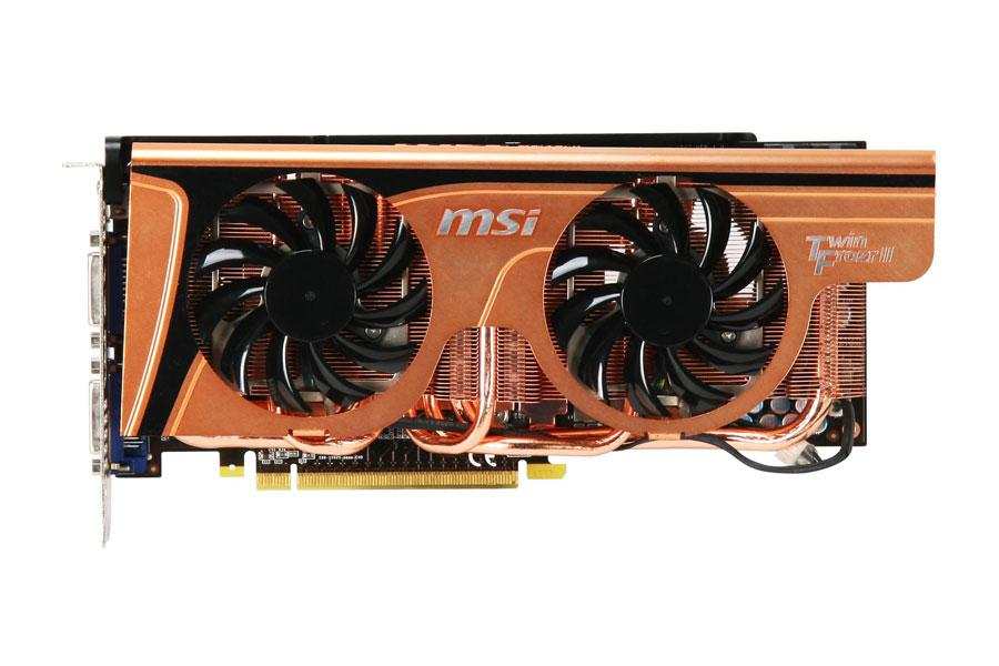 MSI N465GTX Twin Frozr II Golden Edition