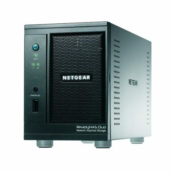 Netgear ReadyNAS Duo - 750 Go