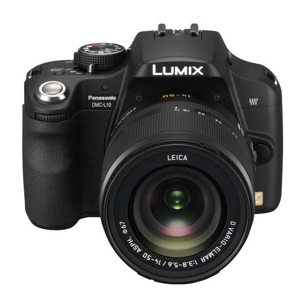 Panasonic Lumix DMC-L10 + zoom Leica 14-50 mm