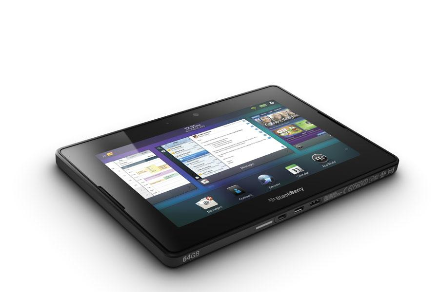 fiche produit prise main  tablettes rim blackberry playbook wi fi