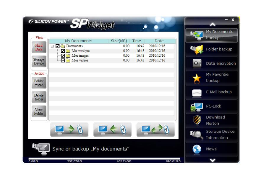 Silicon Power Stream S10 750 Go