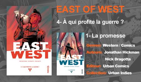 Tentez de gagnez le Tome 1 de East of West