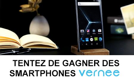 Tentez de gagner les smartphones Vernee Thor et Apollo Lite