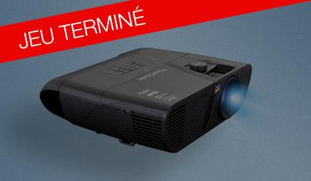 Tentez de gagner le vidéoprojecteur Viewsonic PRO7827HD !
