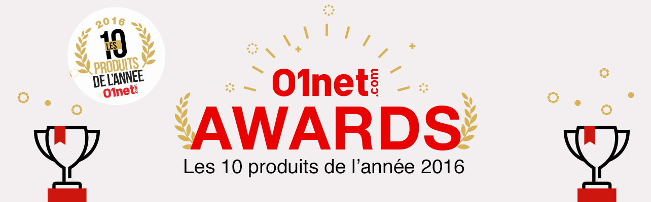 01net Awards 2016 - 01net.com