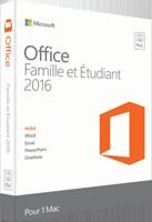 Office Famille et Etudiant 2016 Mac