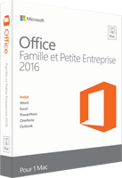 Comparer les packs microsoft office 2016 - Prix pack office pour mac ...