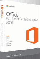Office Famille et Petite Entreprise 2016