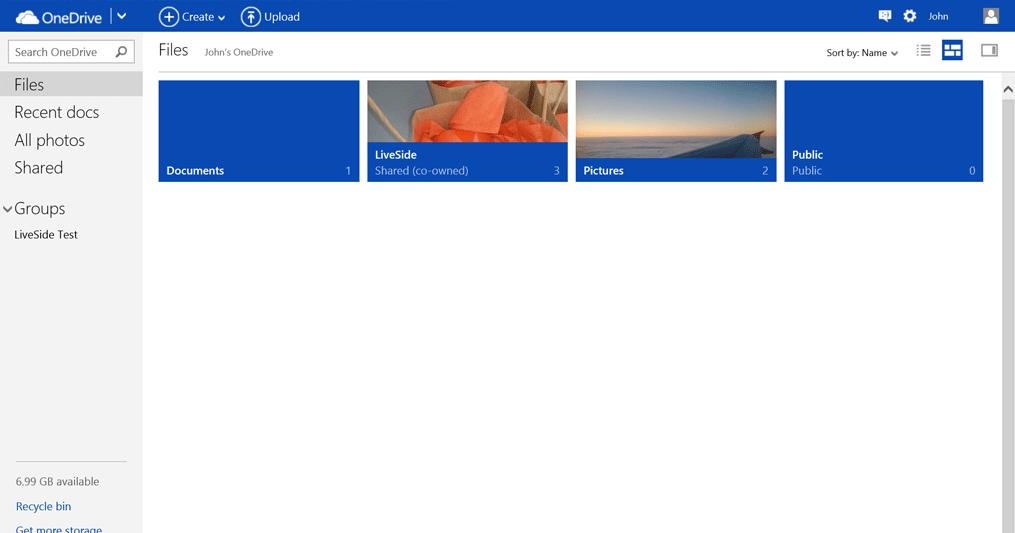 OneDrive 2016