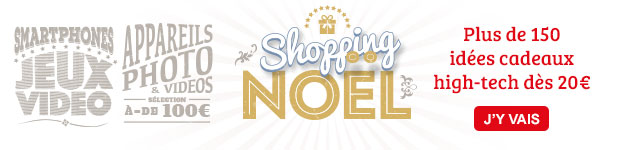 Shopping Noël 01net.com