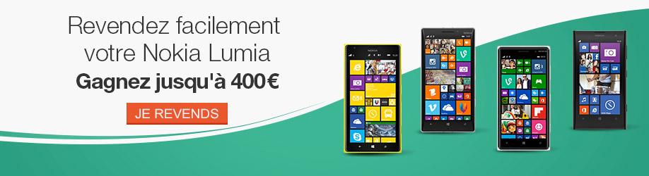 Revendez facilement votre Nokia Lumia