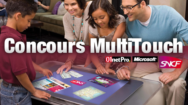 Concours Multitouch SNCF